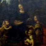 """Leonardo """"La Vergine delle Rocce"""" - Lovre"""
